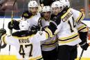 Des Bruins revigorés débarquent à Montréal