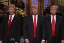 Trois Donald Trump à <em>SNL</em>