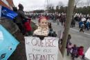 Front commun: les syndiqués aux quatre coins de la ville (photos et vidéos)