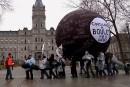 Jour de grève à Québec