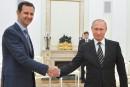 Poutine ne se sent pas le «droit» de dire à Assad de quitter