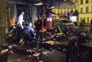Des victimes d'une attaque devant le restaurant La Belle Equipe,... | 13 novembre 2015