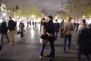 Samedi soir morose et bars déserts dans la capitale française