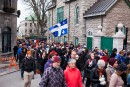 Élan de solidarité dans les rues de Québec