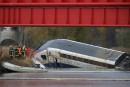 Accident de TGV en Alsace: la rameaurait percuté un pont