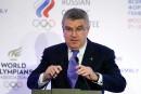 La Russie doit se conformer si elle veut être à Rio, dit Thomas Bach