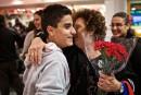 Une trentaine de Syriens sont arrivés à l'aéroport Montréal-Trudeau