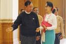 Birmanie: Aung San Suu Kyi rencontre un représentant du régime