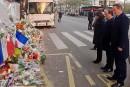 Hollande et Cameron se recueillent au Bataclan