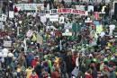 Des milliers de personnes verdissent la capitale