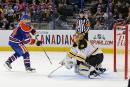 Les Oilers freinent les Bruins