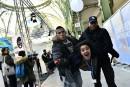 COP21: la police évacue des militants d'une exposition au Grand Palais