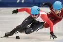 Médaille d'or pour François Hamelin au 500 m de la Coupe du monde