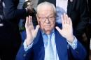 Jean-Marie Le Pen salue le succès du FN