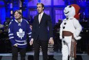 Bonhomme Carnaval à <em>Saturday Night Live</em>