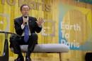 Ban Ki-moon appelle «100% des entreprises» à lutter contre le réchauffement