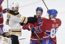 Bruins 3 - Canadien 1 (final)