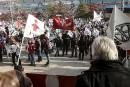 1500 syndiqués manifestent en Outaouais