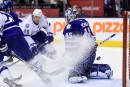 Les Maple Leafs s'inclinent 5-4 face au Lightning