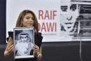 La femme de Badawi reçoit le prix Sakharov en son nom