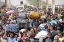 Vers un nouveau nombre record de réfugiés et de déplacés