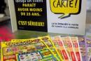 Cadeaux: pas de billets de loterie pour les enfants