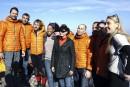 Susan Sarandon aux côtés des réfugiés sur l'île de Lesbos