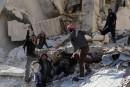 Syrie: 46 civils tués dans des raids probablement russes