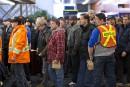 Arrêt de travail illégal: près de 2400 cols bleus pourraient être suspendus