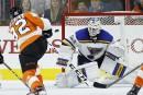 Les Flyers l'emportent 4-3 face aux Blues