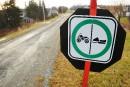 Des sentiers impraticables ici et ailleurs au Québec