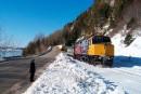Des lettres pour interpeller Trudeau sur l'avenir du train en Gaspésie