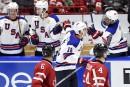 Mondial junior: les États-Unis battent le Canada 4 à 2