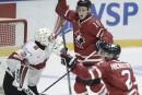 Mondial junior: le Canada a eu très chaud contre la Suisse
