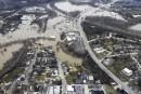 Lutte effrénée contre la montée des eaux dans le Missouri