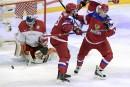 Mondial junior: le Danemark donne la frousse aux Russes
