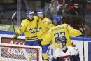 Mondial junior: la Suède pulvérise la Slovaquie