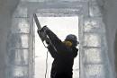 L'Hôtel de glace de Québec ouvrira lundi comme prévu
