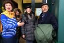 Un groupe de 24 réfugiés syriens pose les pieds à Québec