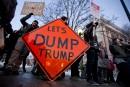 <em>La Presse</em> au Vermont: Donald Trump chahuté