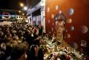 À Londres, chants et danses pour rendre hommage à David Bowie