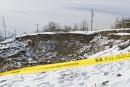 Glissement de terrain à Lennoxville