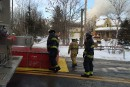 Incendie àSt-Élie: un poêle à bois non conforme en cause