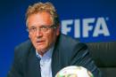 La FIFA limoge son secrétaire général Jérôme Valcke