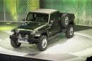 Une camionnette, un nouveau VUS et un Grand Cherokee musclé pour Jeep