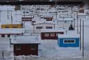 Le village de pêche prend forme à Sainte-Anne-de-la-Pérade