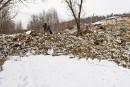 Glissement de terrain: le site est toujours à risque