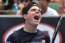 Australie: Raonic passe au deuxième tour