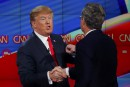 Donald Trump n'est pas sérieux et sera anéanti, prédit Jeb Bush