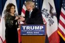 Sarah Palin soutient Donald Trump pour la Maison-Blanche